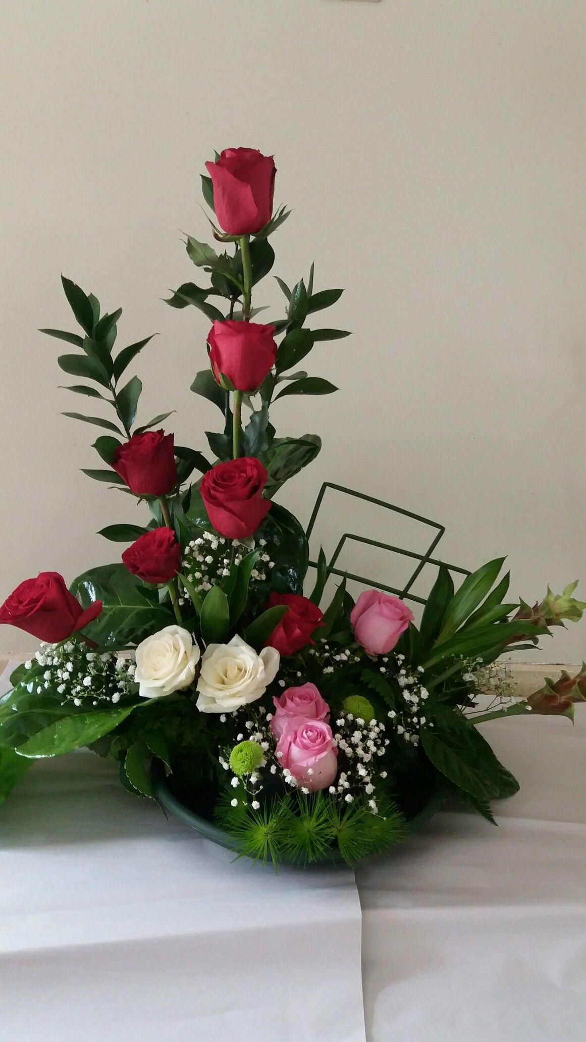 Arreglos De Rosas Arreglos Florales Arreglos De Rosas Y