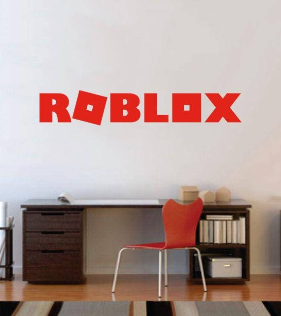 "unofficial roblox wall decal - with or without gamer tag! 30"" (new"
