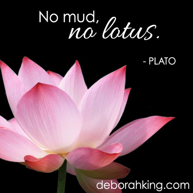 Inspirational quote no mud no lotus plato hugs deborah inspirational quote no mud no lotus plato hugs deborah plato energyhealing deborahking mightylinksfo