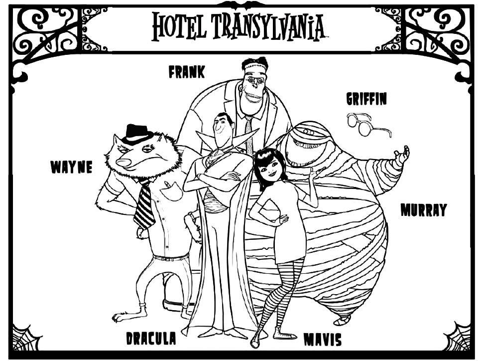 Dibujos Para Colorear Transylvania 2 Colorear Dibujos