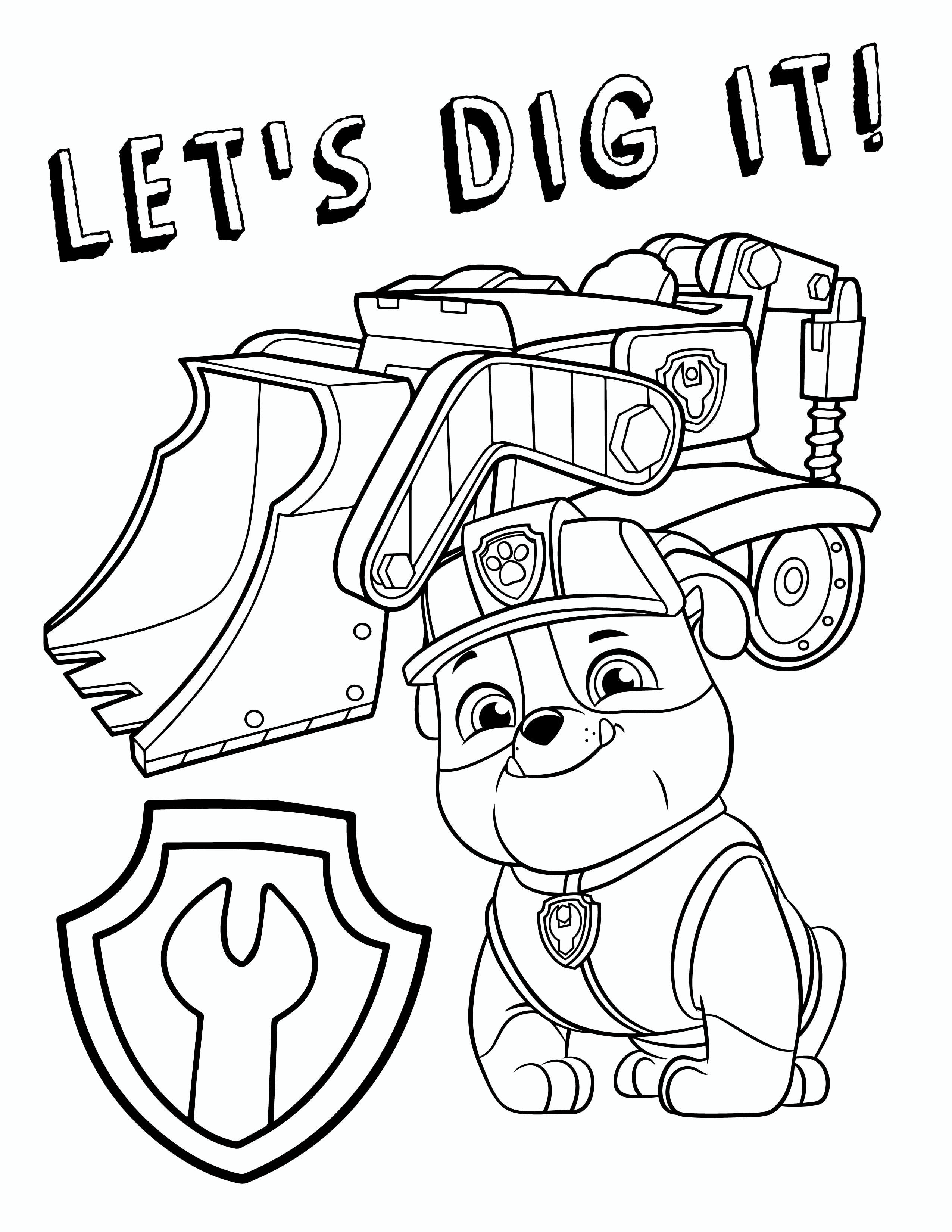 Paw Patrol Coloring Pages Free Paw Patrol Coloring Pages Paw