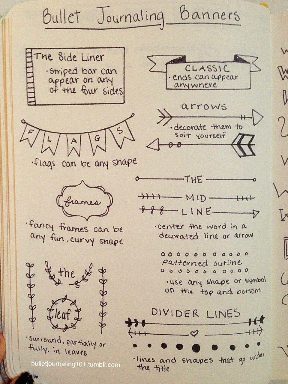 How to bullet journal bullet journal ideas pinterest bullet