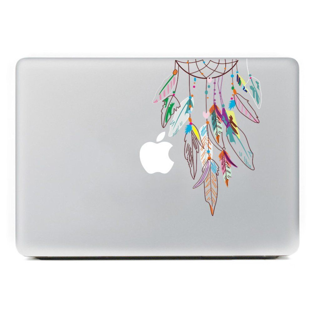 Vati Leaves Removable Colorful Dream Catcher Best Vinyl Decal - Best vinyl decal stickers
