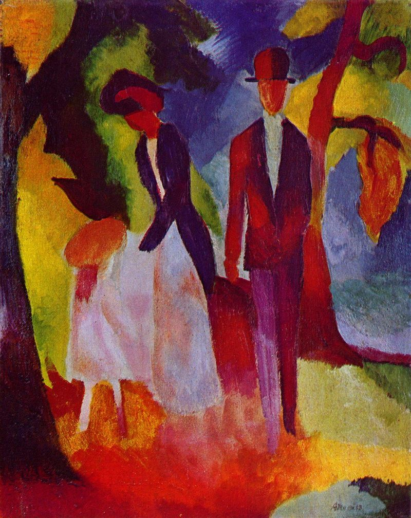 August Macke 026 - August Macke - Wikipedia, the free encyclopedia ...