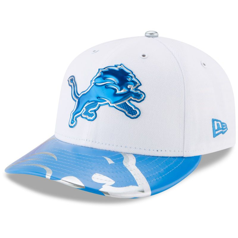 big sale half price low price sale Detroit Lions New Era 2017 NFL Draft On Stage Low Profile 59FIFTY ...