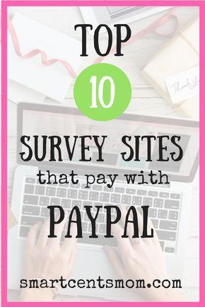 Surveys For Money Paypal
