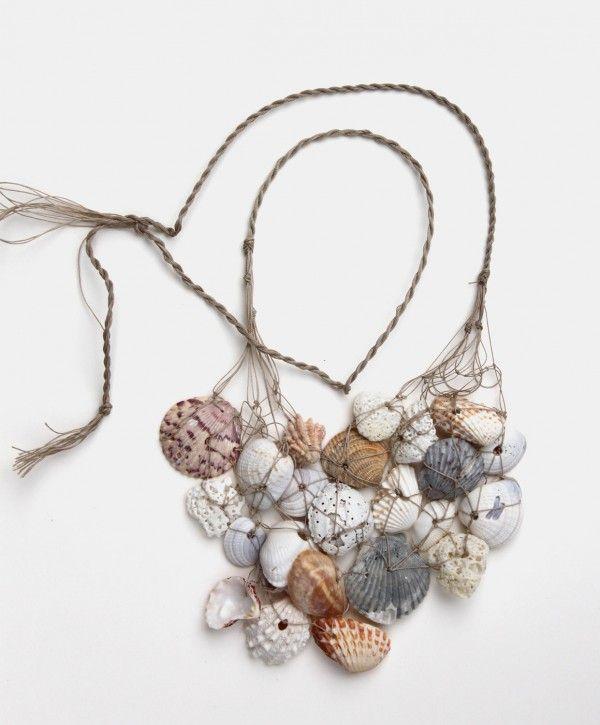 Nautical seashell neclace design squish blog mermaids diy necklace solutioingenieria Images