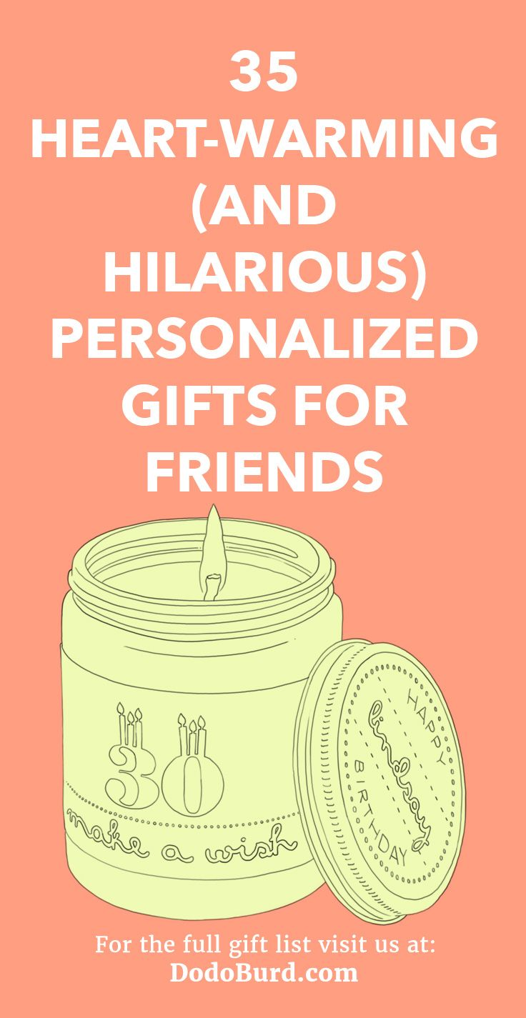 heartwarming and hilarious personalized gifts for friends