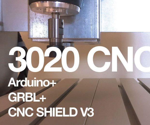 3020 Cnc Arduino Grbl Cnc Shield V3 Diy Cnc Router