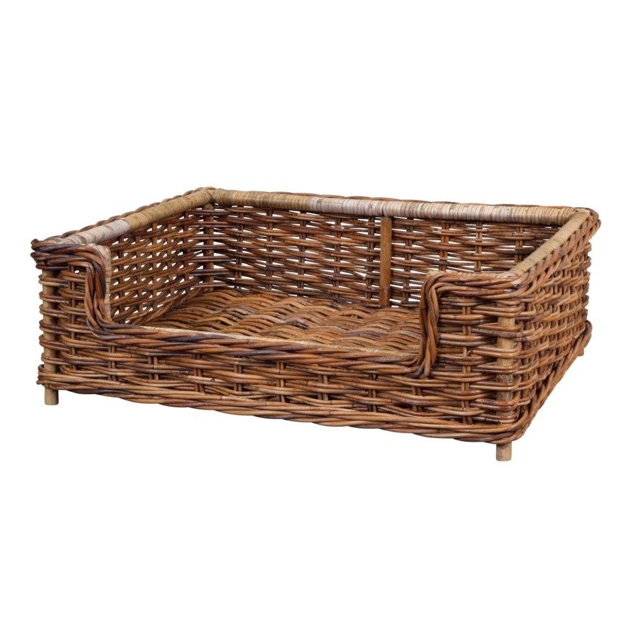 French Country Dog Bed Small Dog Beds Wicker Dog Bed Basket Dog Bed Country Dog Beds