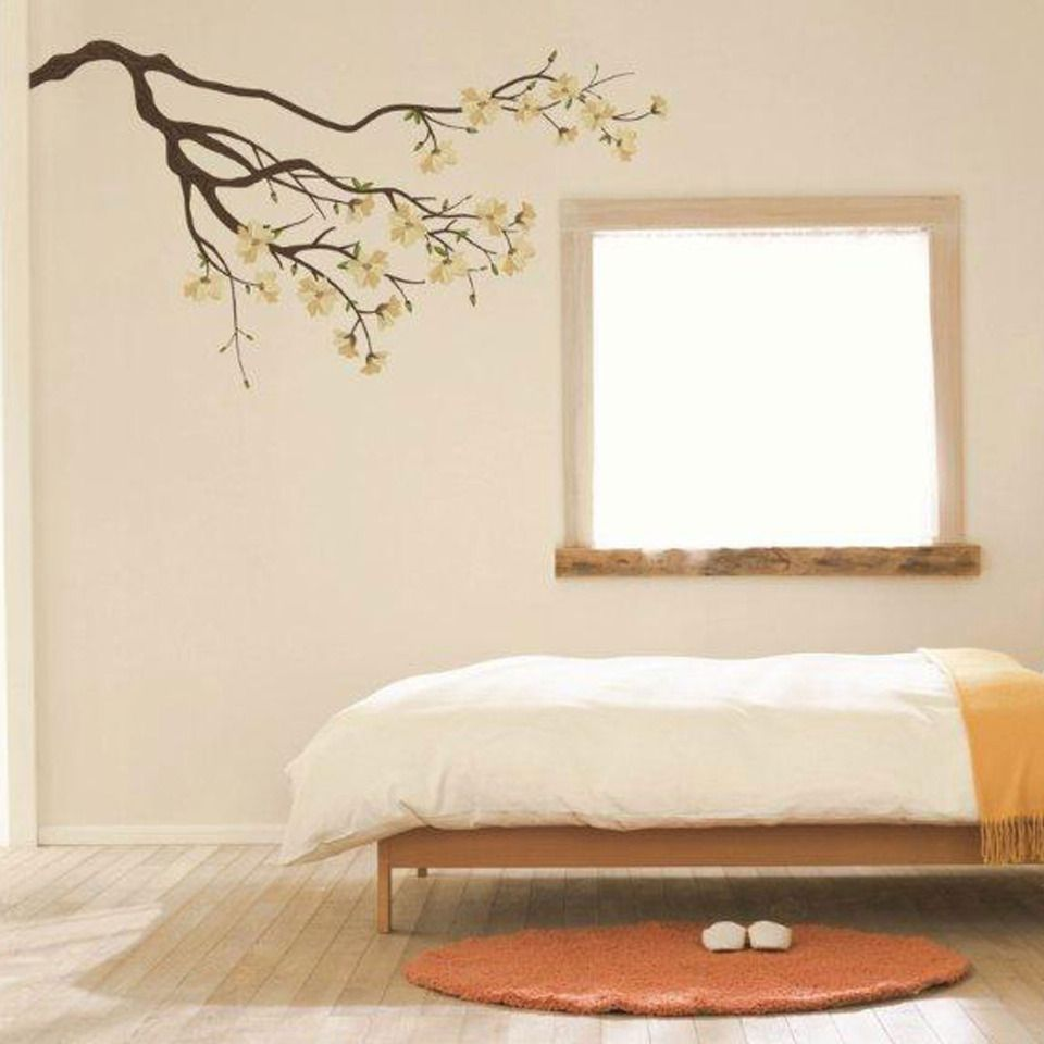 Art Applique By Kmg White Branches Decorative Wall Decal