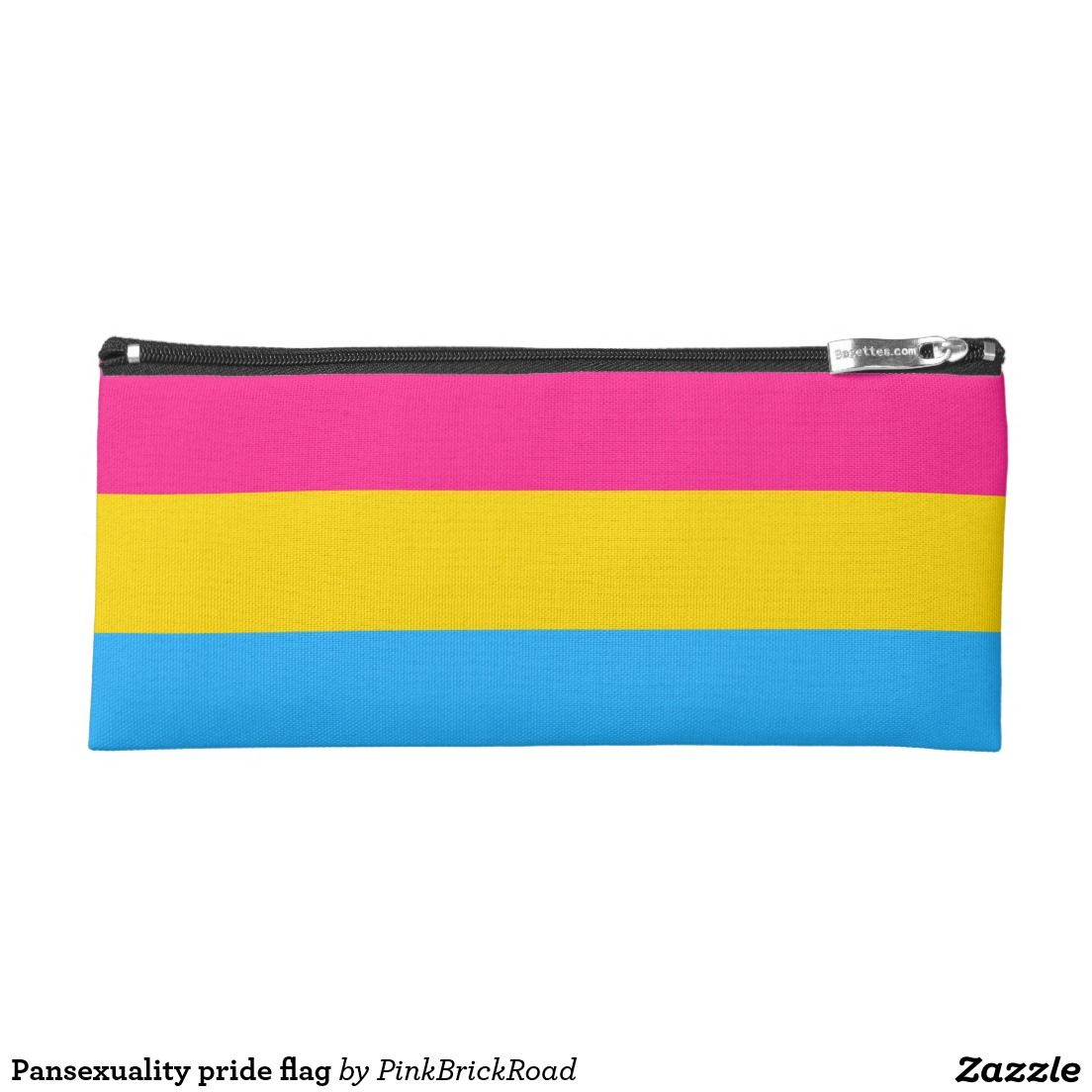 Pansexuality pride flag pencil case