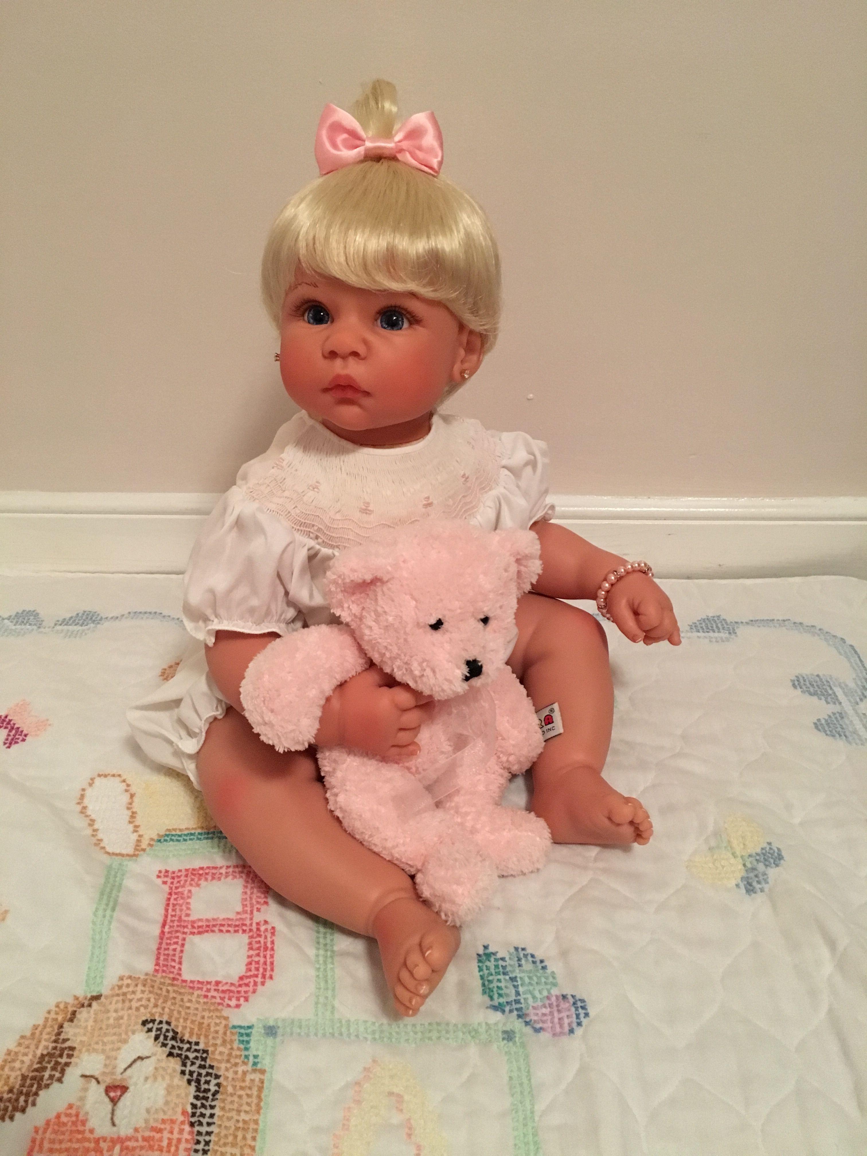 Lee Middleton Custom toddler doll.