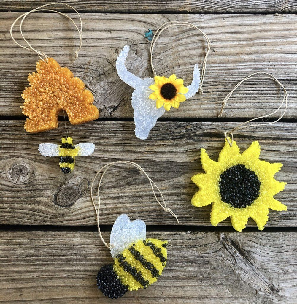 Lil Bee's Custom Car Air Freshies Car air freshener diy