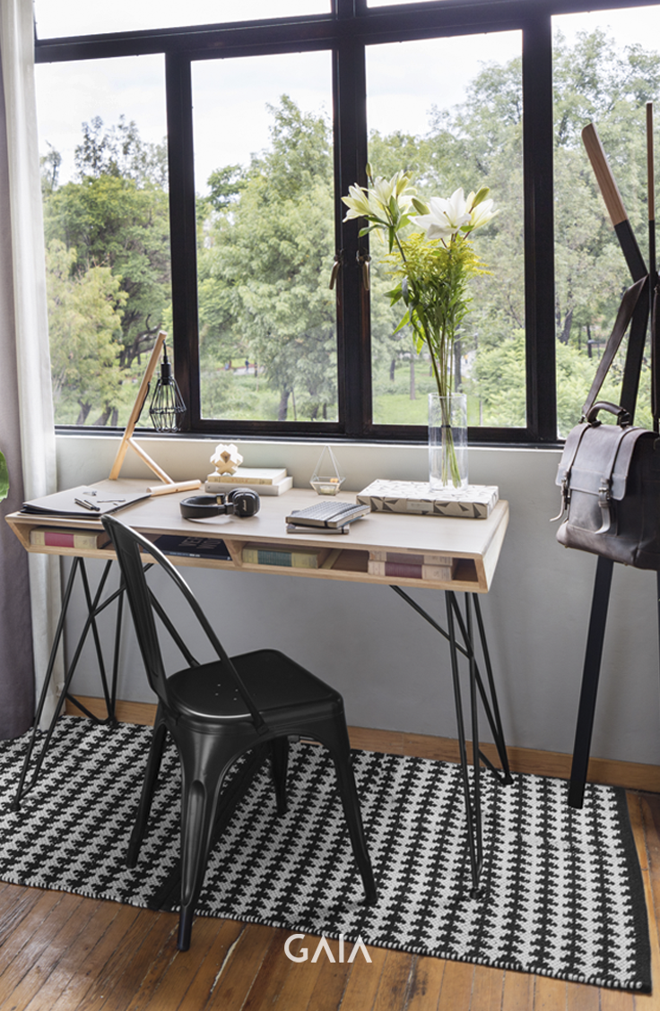 home office mexico. GAIA Design - Home Studio Escritorio Sarape Silla Tólix #furniture #design #GAIADesign # Office Mexico T