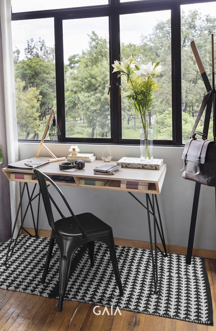 Ordinaire GAIA Design Estudio Home Office Trend Vivir En La Ciudad Urbano Escritorio  Silla Tolix Perchero Organizacion