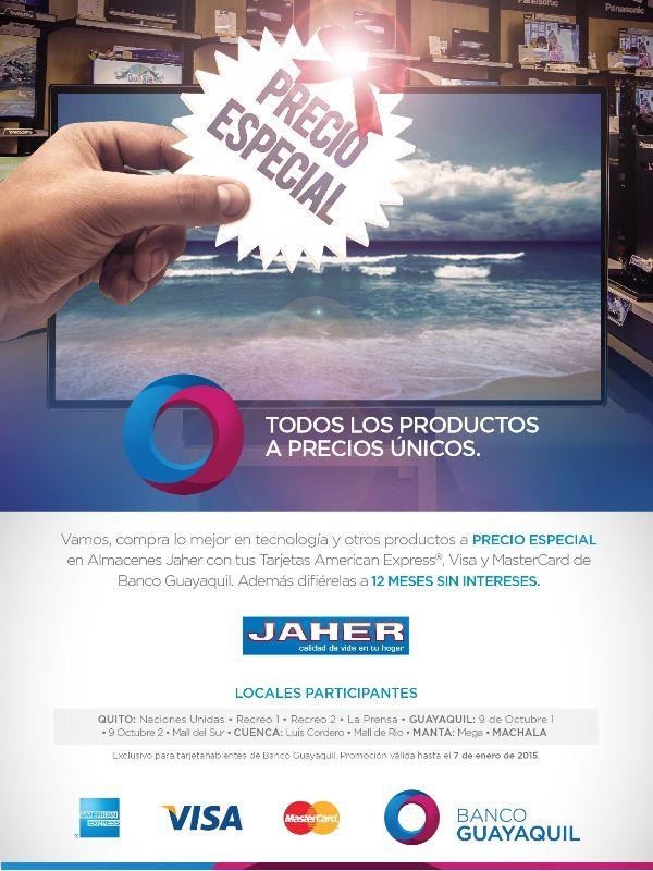 Precios Especiales En Jaher Recreo Tarjetas Guayaquil