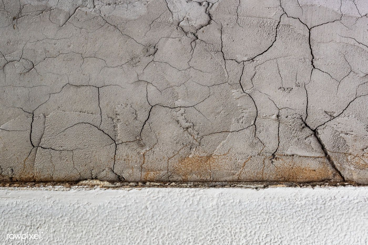 Cracked Cement Wall Textured Background Free Image By Rawpixel Com In 2020 Textured Background Cement Walls Concrete Wall Texture