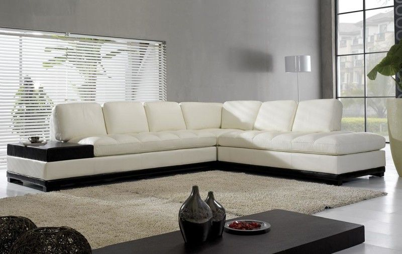 L Shaped Sofa Design Plus Fluffy Area Rug