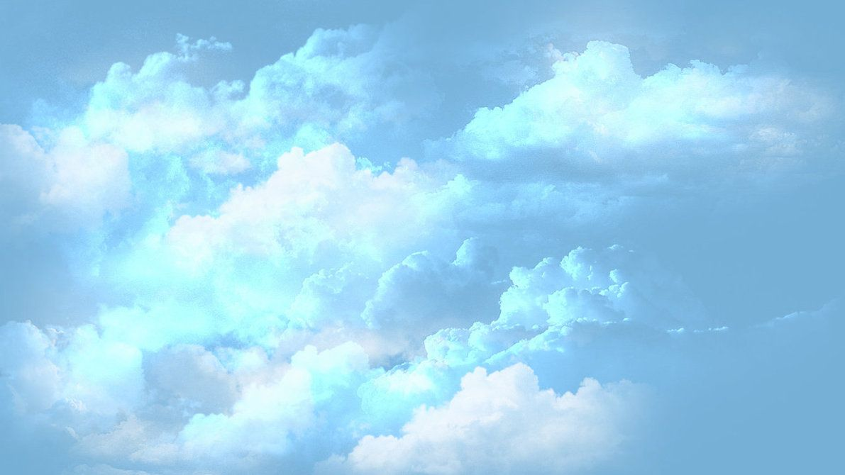 blue cloud with rainbow wallpaper - photo #22