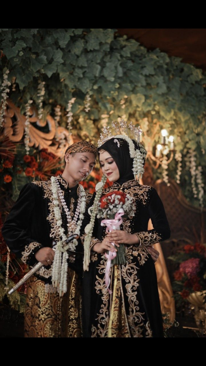 Pengantin Jawa Muslim #JavaGarden  Gaya pengantin, Rias wajah