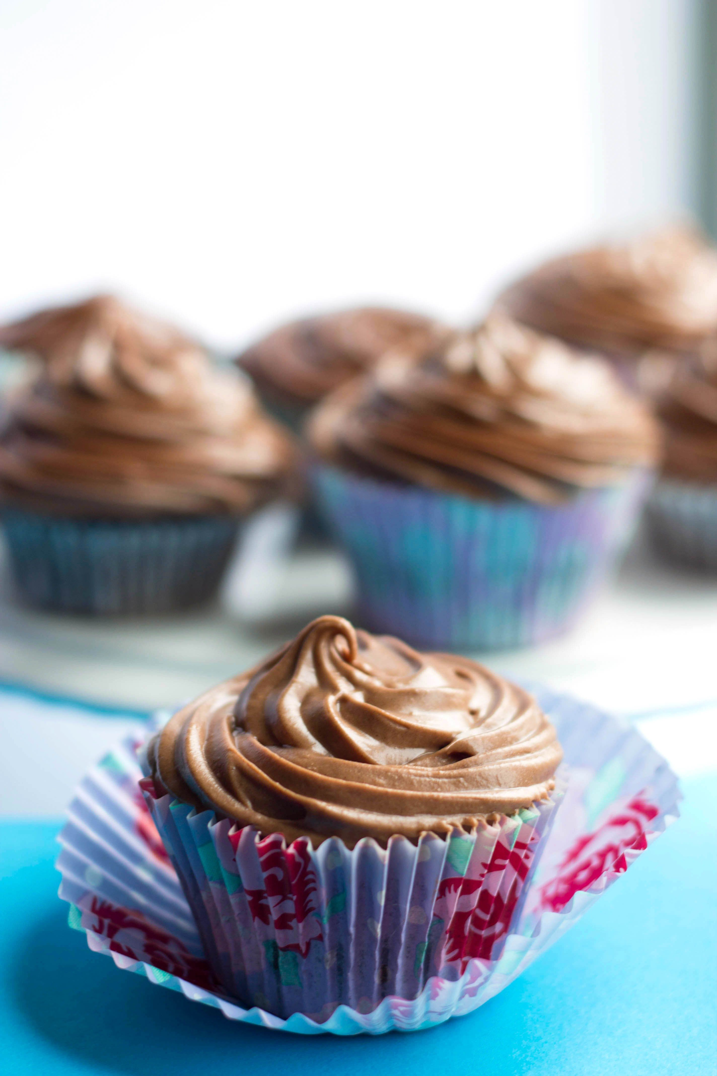 Chocolate Cupcakes With Chocolate Cream Cheese Frosting Recipe