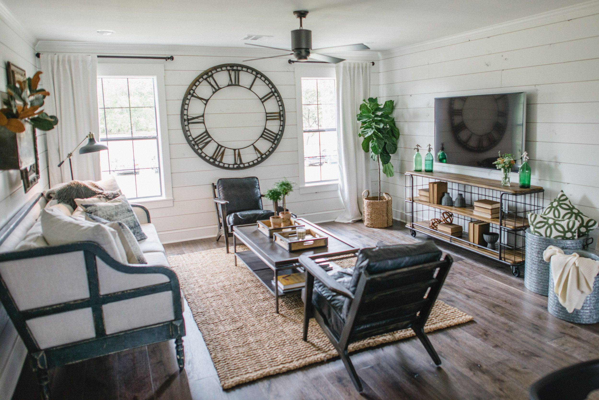 Episode 06 The Bardominium Fixer Upper Living Room Trendy Living Rooms Farm House Living Room
