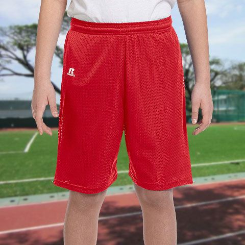 Russell Athletic Youth Nylon Tricot Mesh Short-659AFB