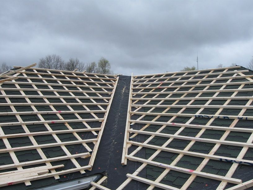 Strapping For Metal Roof In 2019 Fibreglass Roof Bamboo