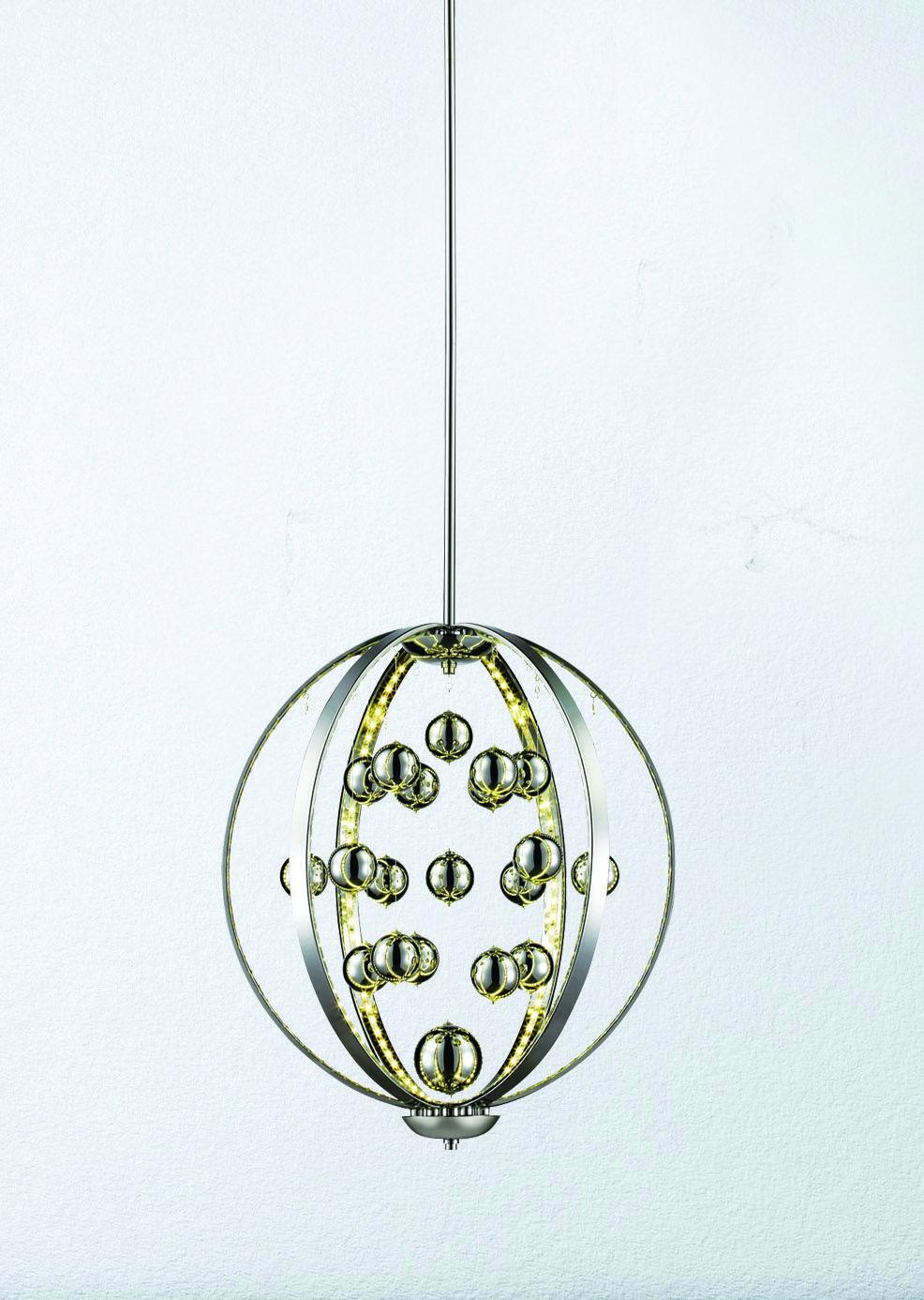 Patriot Lighting® Elegant Home Allie 18'' LED Pendant Light