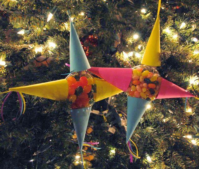 Mommy Maestra Las Posadas Craft Pinata Ornaments Las Posadas