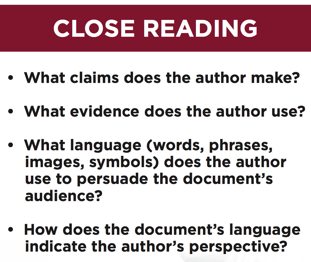 Teaching students to contextualize or understand the things teaching students to contextualize or understand the things happening around certain historical events allows them to gain a deeper knowledge of l fandeluxe Choice Image