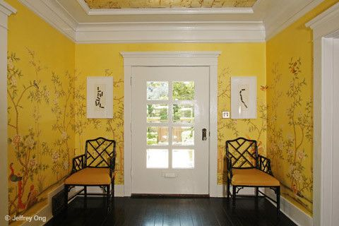 Entry Foyer Wallpaper : Griffin and wong ltd asian wallpaper chinoiserie