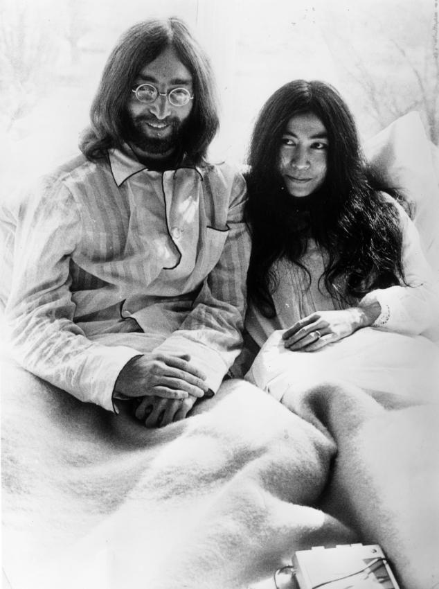 John Lennon & Yoko Ono / Bed-in for Peace