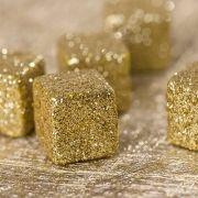 #noel Mini cubes pailletés (x50). Maplusbelledeco.com