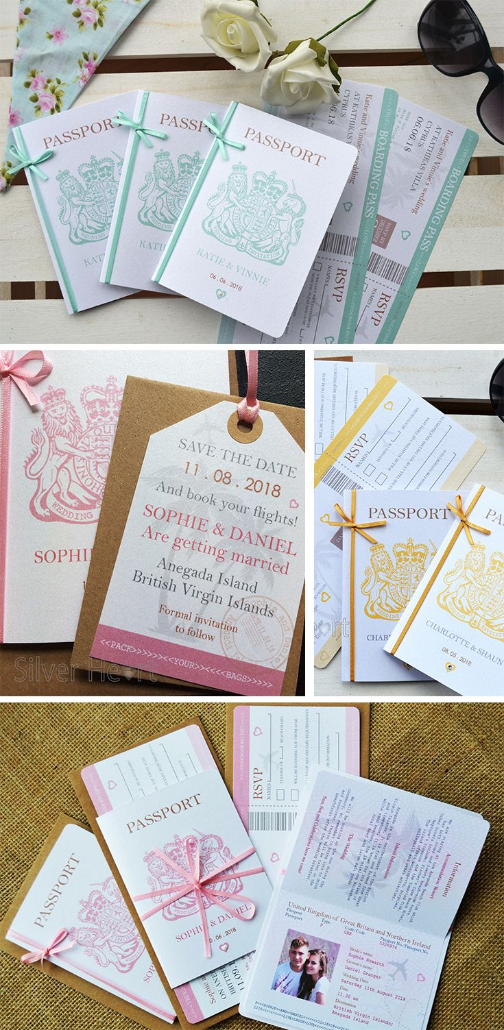 sample wording for rsvp wedding invitations%0A Passport Wedding Invitation with optional RSVP  SAMPLE ONLY