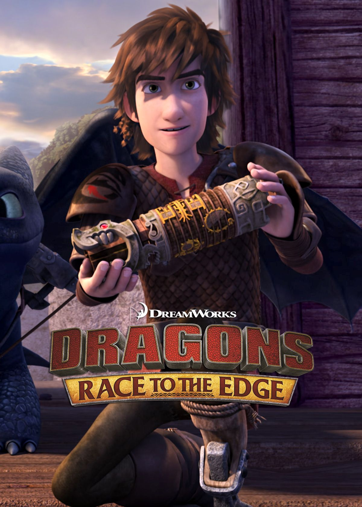 how to train your dragon netflix series trailer