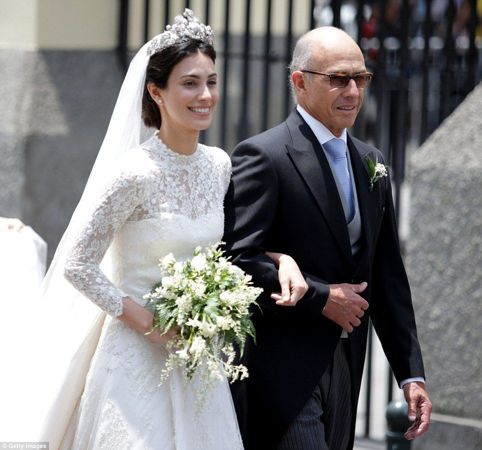 Kate moss attends lavish wedding of prince christian of hanover