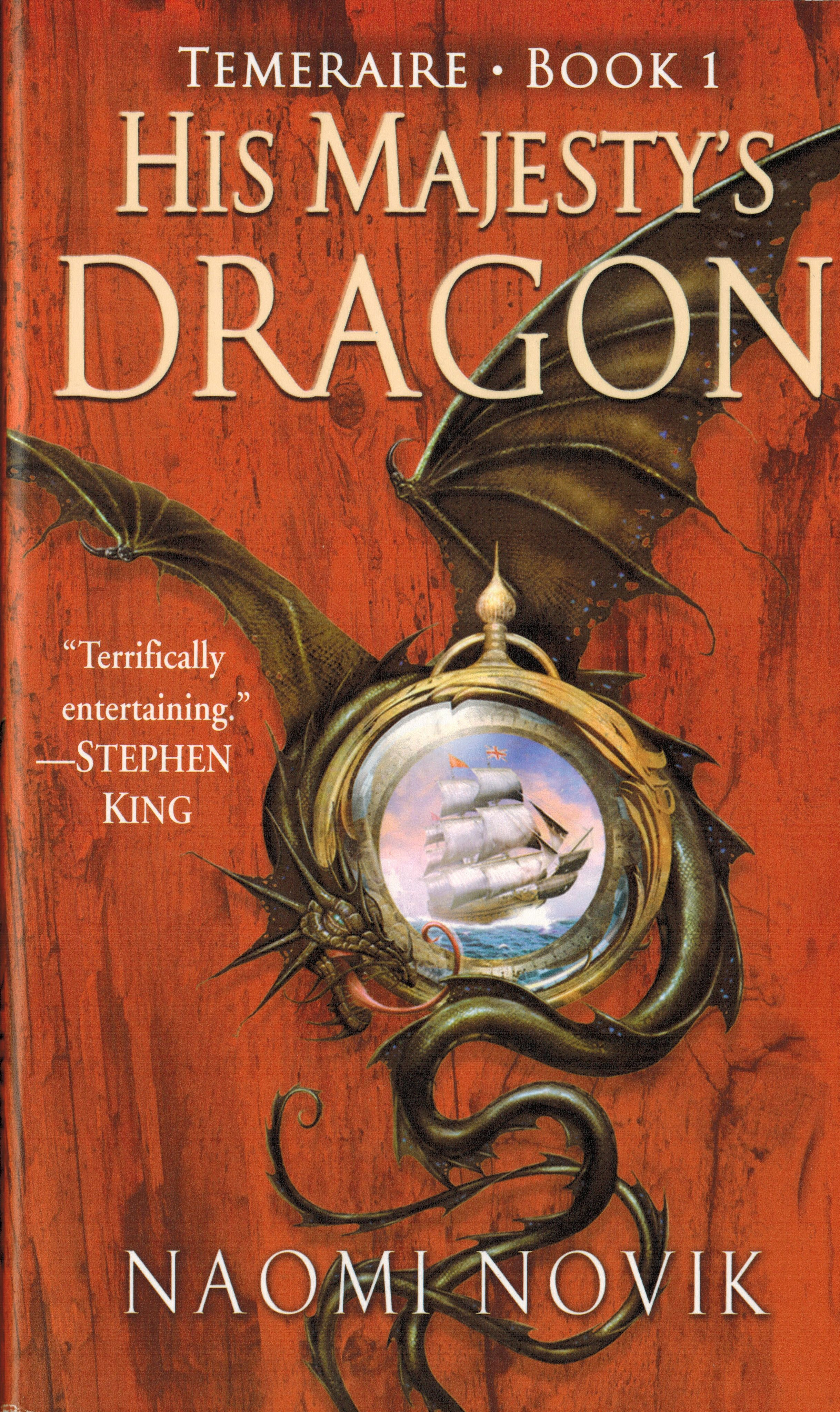 His majestys dragon fantasy book series fantasy books