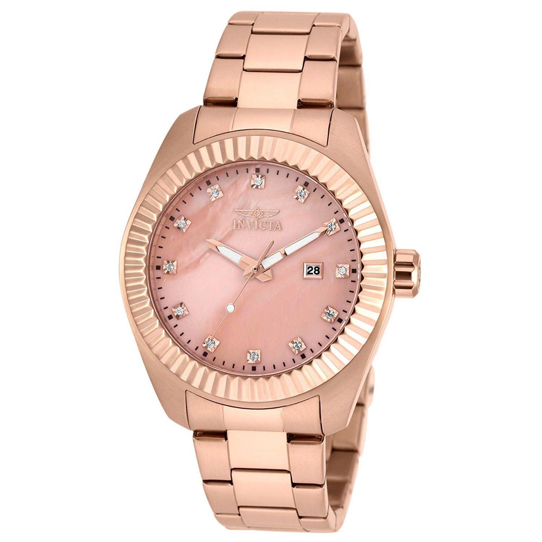 Invicta Women's Specialty Rose GoldTone Steel Bracelet