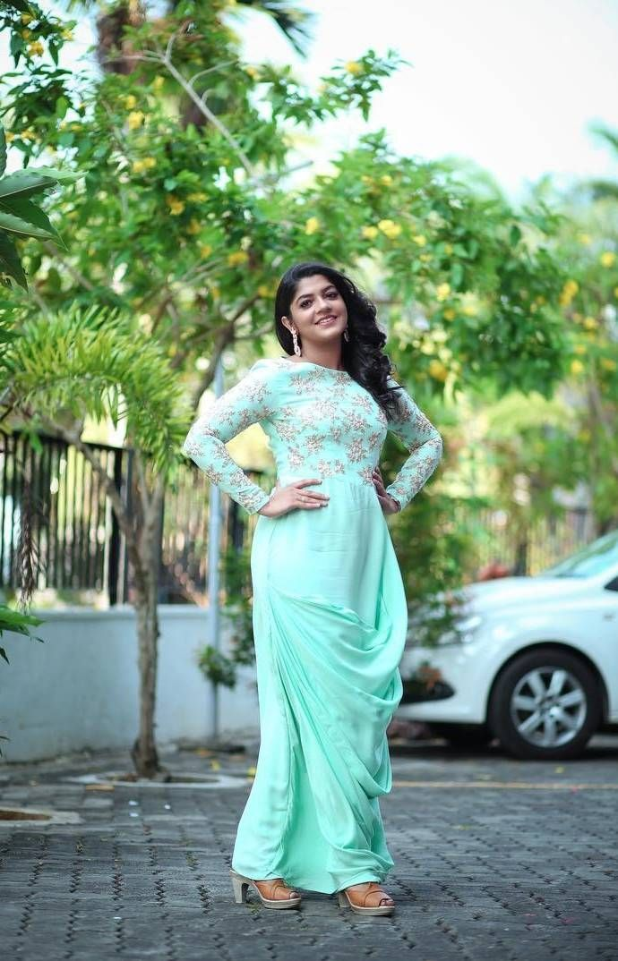 Aparna Balamurali in 2020 Gown party wear, Dance fashion