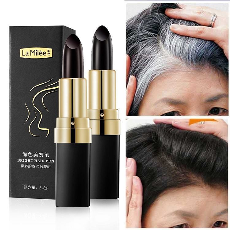 Hair Dye Root Color Edit Cream Stick Cover Up White Hair