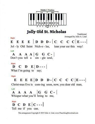 Pin by Sara Benton on Music   Christmas piano music, Piano music with letters, Christmas piano