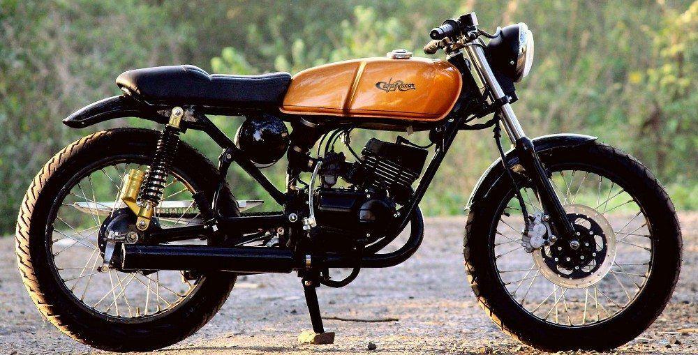Meet Yamaha Rx 100 Sero Cafe Racer By Jedi Customs Yamaha