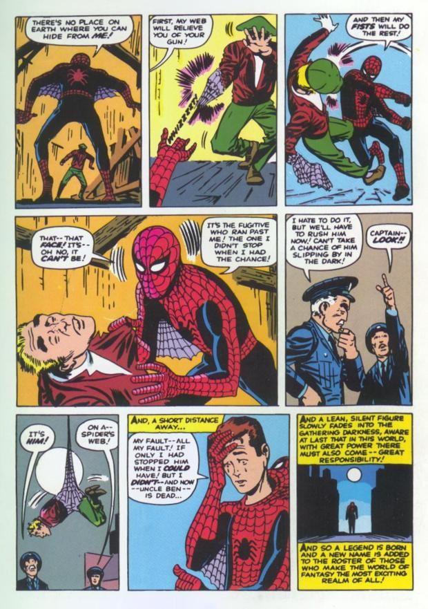 spiderman comic books | Spiderman Comic Book Pages Comic book ...