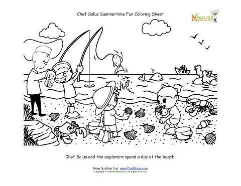 Chef Solus and the explorers go to this beach this summer. Cute ...