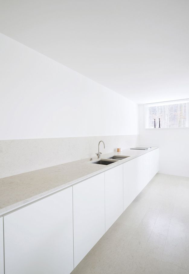 Best Simple White Kitchen Inside House O Minimalist 640 x 480