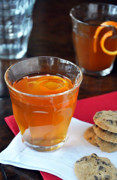 Spiked Apple Cider justataste.com #applecider #wintercocktail #cocktail #spikedapplecider