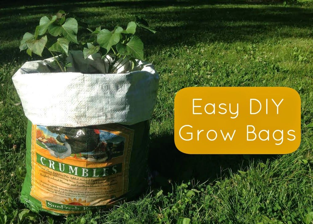 Easy Diy Grow Bags To Expand Your Garden Space Diy 400 x 300
