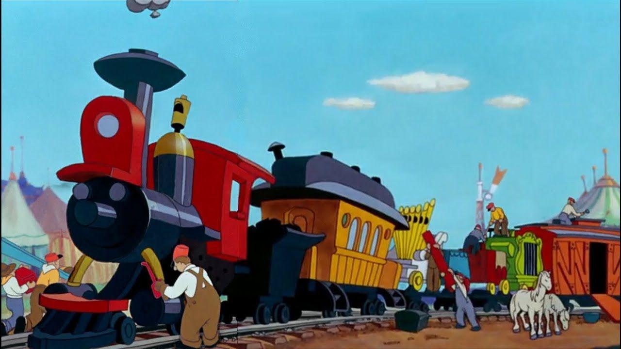 Dumbo - Casey Jr  Scenes HD - YouTube | Playroom Ideas | Disney